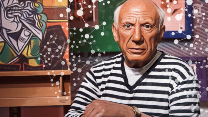 「Picassoアート」をブロックチェーンでトークン化|ジョン・マカフィー氏も協力