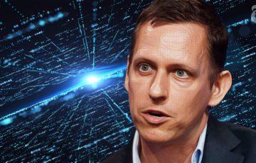 Peter Thiel:ブロックチェーン投資に移行「シリコンバレーの時代は終わりに近い」