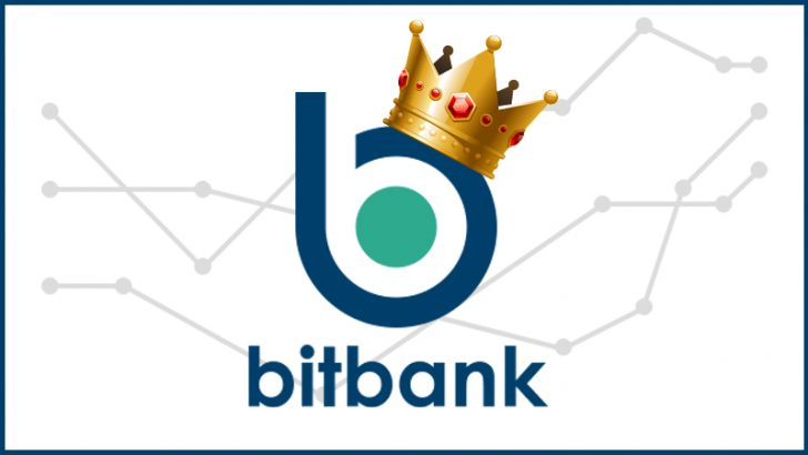 bitbank:ビットコインキャッシュ(BCH)取引高ランキングで「国内1位」獲得