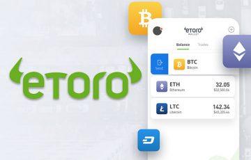 eToro:仮想通貨ウォレットをリリース|Fiat入金・決済機能なども追加予定