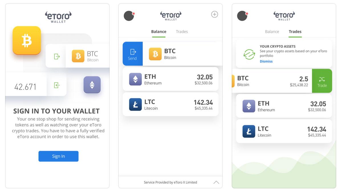 eToro-wallet