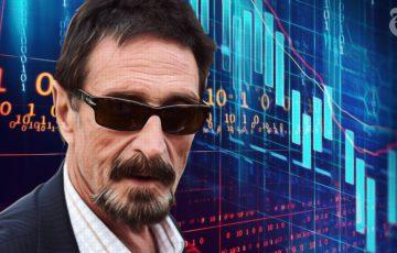続く仮想通貨下落市場、今後は「長期的な思考」が重要に:John McAfee