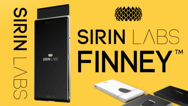 SIRIN LABS:ブロックチェーンスマホ「FINNEY」販売間近|先行予約受付は本日まで