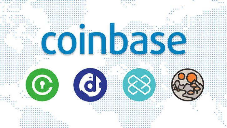 コインベース:仮想通貨4種類の上場を発表|XRP・ADAなどの取り扱いも検討