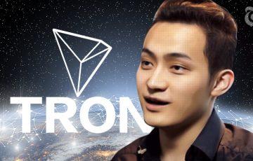 TRON(TRX)の業績は「400%」成長する|取引量はすでにETHの3倍:ジャスティン・サン