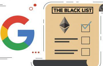 Google:イーサリアムを広告キーワードの「ブラックリスト」に登録|疑問視する声も