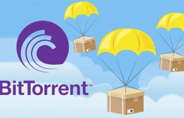 トロン(Tron/TRX)保有者に「6年間無料配布」BitTorrentがBTTエアドロップを開始