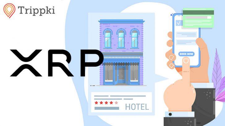 リップル(Ripple/XRP)決済で「ホテル予約」が可能に!対応店舗160万以上:Trippki