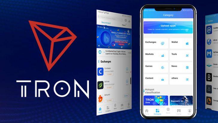 TRON:エコシステムをさらに強化|ブロックチェーン版App Store「CoinPlay」を買収