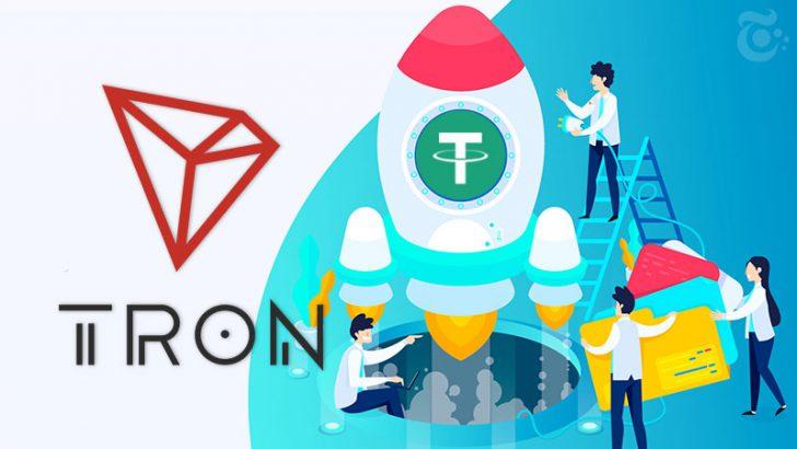 TRONブロックチェーン上で「Tether/USDT」発行へ|DEXやDAppsの発展を促進