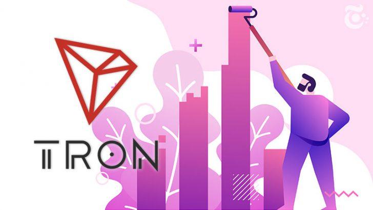 トロン(TRON/TRX)ETH・EOSの「合計ボリューム」を凌駕|約48億円の取引量を記録