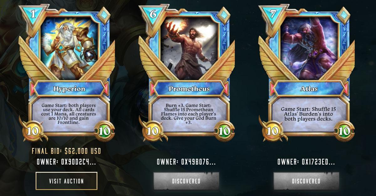 Mythic-cards