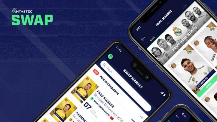 レアルマドリード:ブロックチェーン基盤のグッズ交換アプリ「Fantastec SWAP」に参加