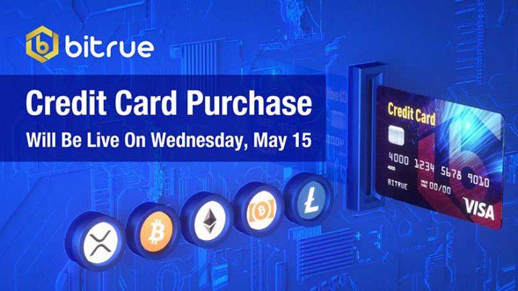 XRP基軸の取引所「Bitrue」がクレジットカードに対応|暗号資産5銘柄が購入可能に