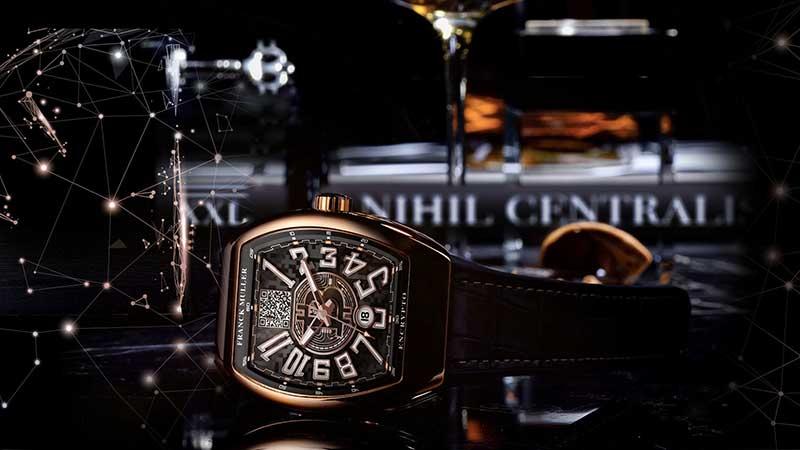 factory authentic efd8a 58df4 フランクミュラー:世界初のビットコイン腕時計「Encrypto」を ...