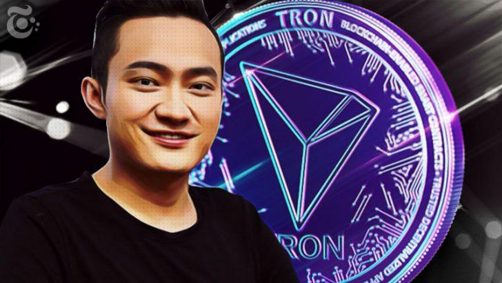 ジャスティン・サン:Tron(TRX)の「トップ10入り」を宣言|最新ニュース近日発表か?