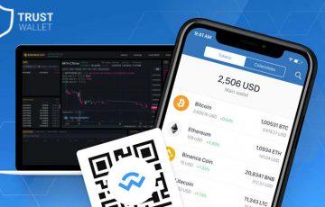 BINANCE DEXに「モバイルウォレット」を簡単接続|TrustWalletが新機能を発表