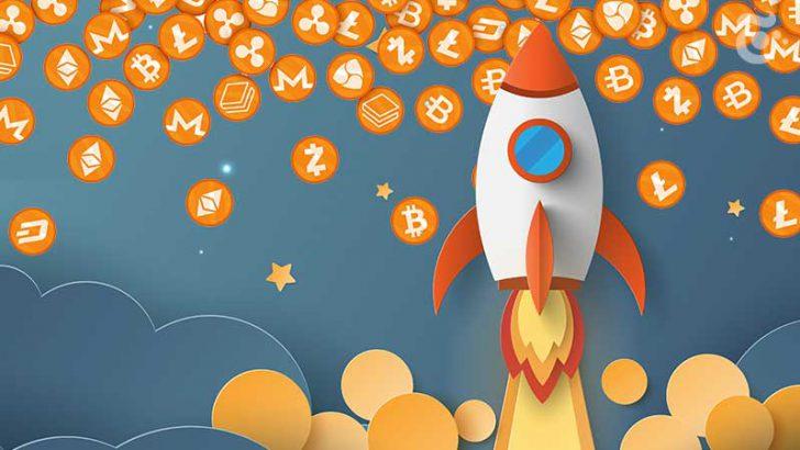 アルトコイン価格「大幅上昇」ビットコインからの資金流入で50%以上の回復も