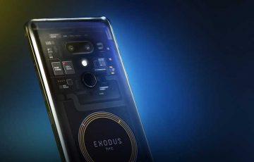 新型ブロックチェーンスマホ「Exodus」新機能が明らかに:台湾HTC