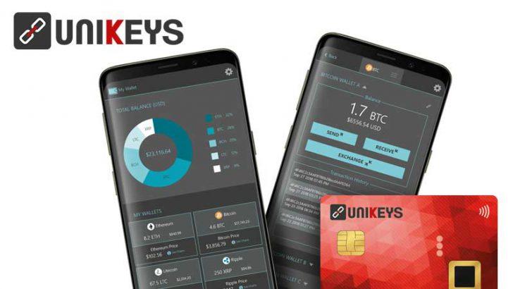 生体認証を用いた「仮想通貨ハードウォレット」事前販売予約を開始:Unikeys