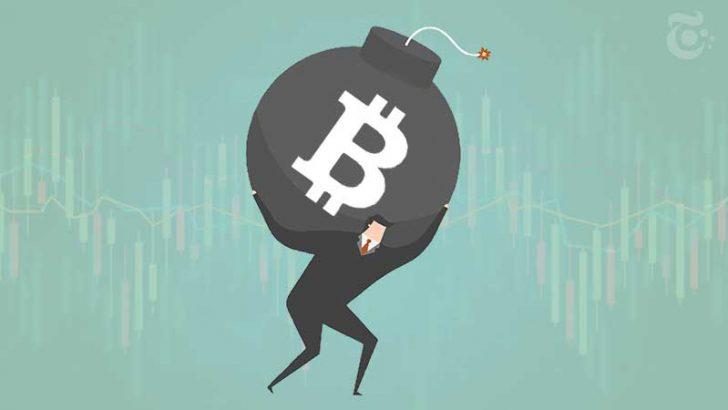 ビットコイン「50万円台」まで下落する可能性も?価格急騰するも上値重い展開