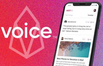 Block.one:EOSブロックチェーン活用した分散型ソーシャルメディア「Voice」を発表