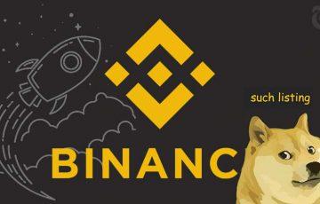 【速報】ドージコイン「20%」価格急騰|仮想通貨取引所「BINANCE」に本日上場