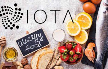 IOTA:ブロックチェーン活用した「食物アレルギー追跡アプリ」開発へ|Primorityと提携