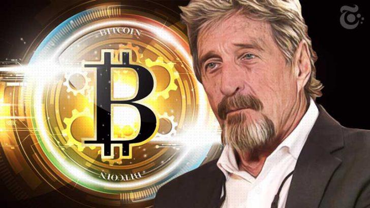 ジョン・マカフィー:一部アルトコイン価格「10倍増」宣言|BTC強気予想も維持