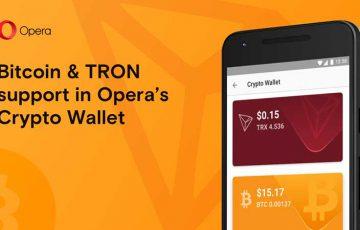 Operaブラウザが「ビットコイン・トロン」に対応|Android向けベータ版アプリ公開