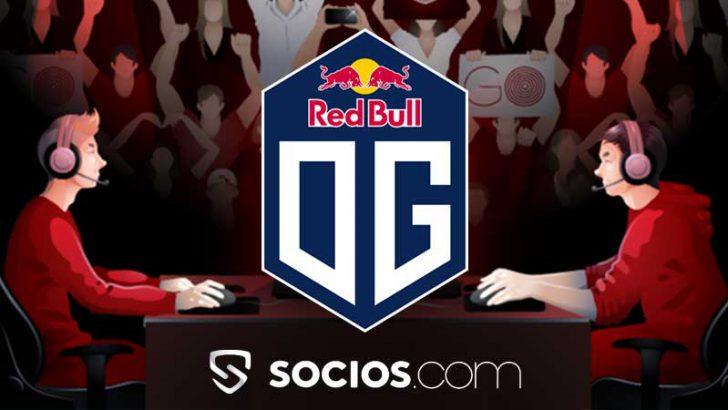 Socios.com:eスポーツの世界的チーム「OG」と提携|ChiliZ(CHZ)上場でデータサイトにも掲載