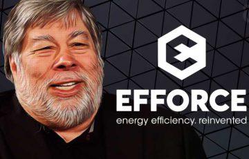 スティーブ・ウォズニアック:ブロックチェーン基盤の省エネ会社「Efforce」を共同設立