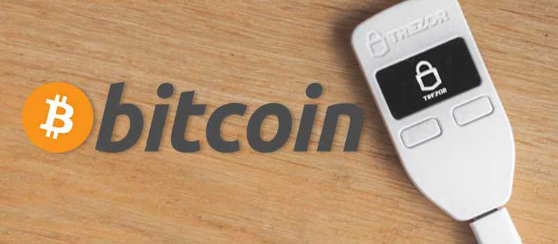 TREZOR-Bitcoin