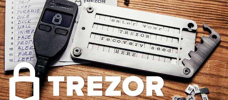 TREZOR-setup