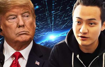 Tron CEO「トランプ大統領」をバフェットランチに招待|仮想通貨の重要性を主張