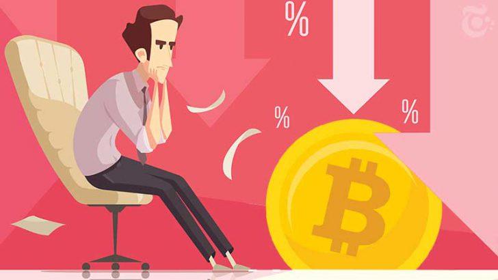 下落続くビットコイン市場、上昇幅も小幅に|今後予想される展開は?