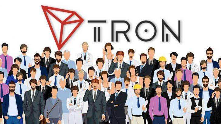 TRON(TRX)アカウント数が「350万」を突破|メインネット公開から1年で急成長