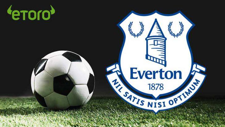 プレミアリーグ所属の「エヴァートンFC」仮想通貨取引プラットフォームeToroと提携