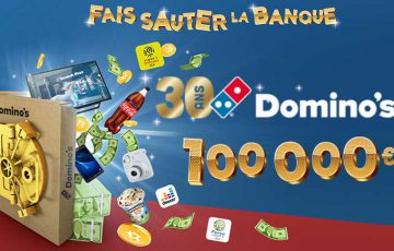 フランスのDomino's Pizza:ビットコイン「1,000万円相当」が当たるキャンペーン開催