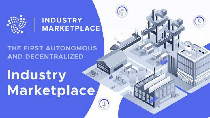 IOTA財団:自立分散型マーケットプレイス「Industry Marketplace」を立ち上げ