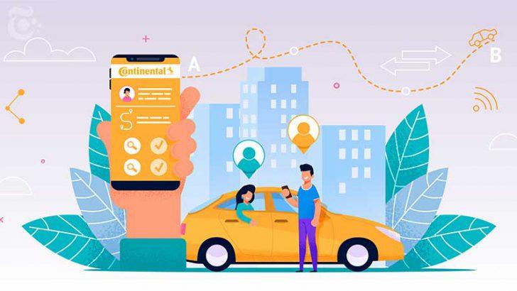 仮想通貨が稼げる「駐車場情報共有アプリ」を発表:自動車部品大手Continental