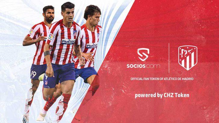 アトレティコ・マドリード「公式ファントークン」発行へ|Socios.comに参加