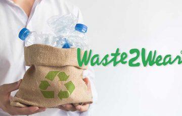 ブロックチェーンで「プラスチックごみ」の問題解決|リサイクル衣類製造会社:Waste2Wear