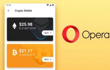 Operaブラウザ:Android版で「ビットコイン・トロン」をサポート