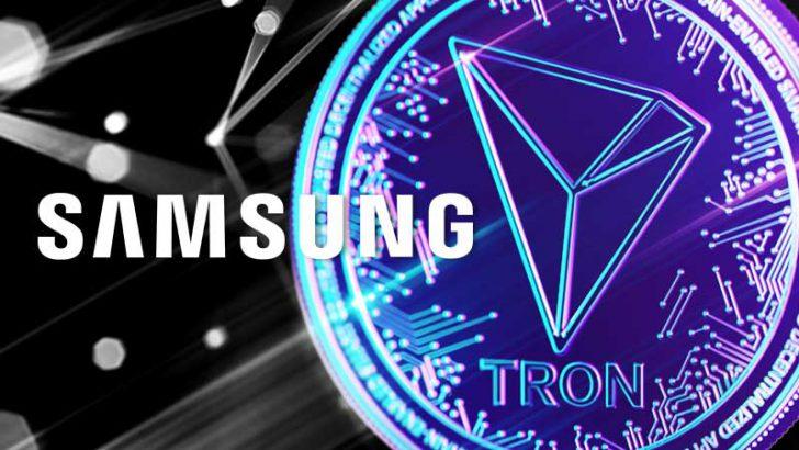 SAMSUNG:DAppsストアの開発キットで「Tron/TRX」をサポート