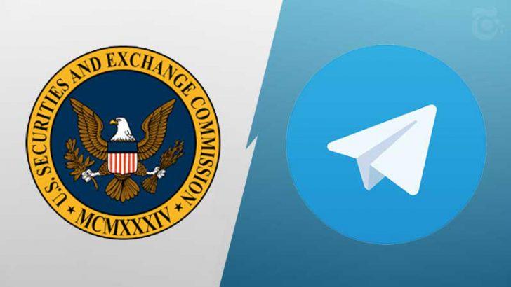 Telegram:米SECの見解に「失望」18ヶ月間、協議求めたにも関わらず