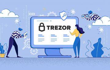 【要注意】仮想通貨を盗む「Trezorの詐欺サイト」見つかる|URLの直打ちは危険?