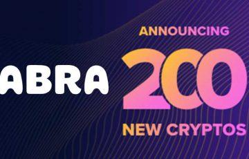 Abra:投資可能な仮想通貨「200種類以上」追加へ|ステーブルコインもサポート