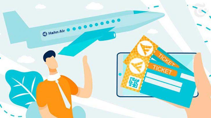 ブロックチェーン基盤のチケットを発行|ドイツ航空会社「Hahn Air」Winding Treeと提携