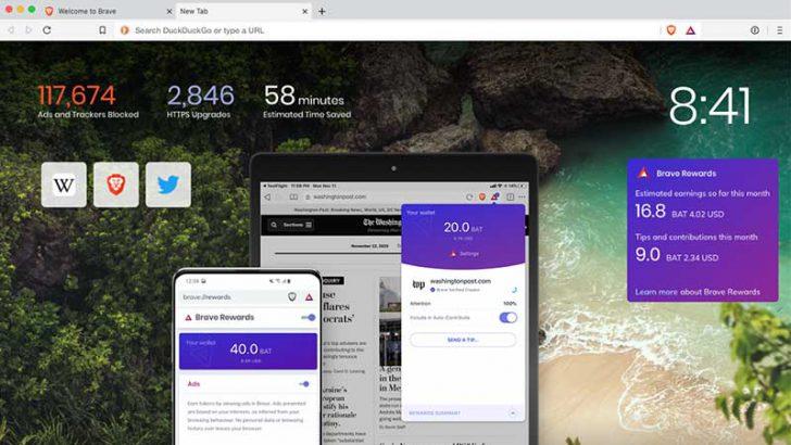 Braveブラウザの報酬機能が「iPhone・iPad」でも利用可能に|バージョン1.0公開